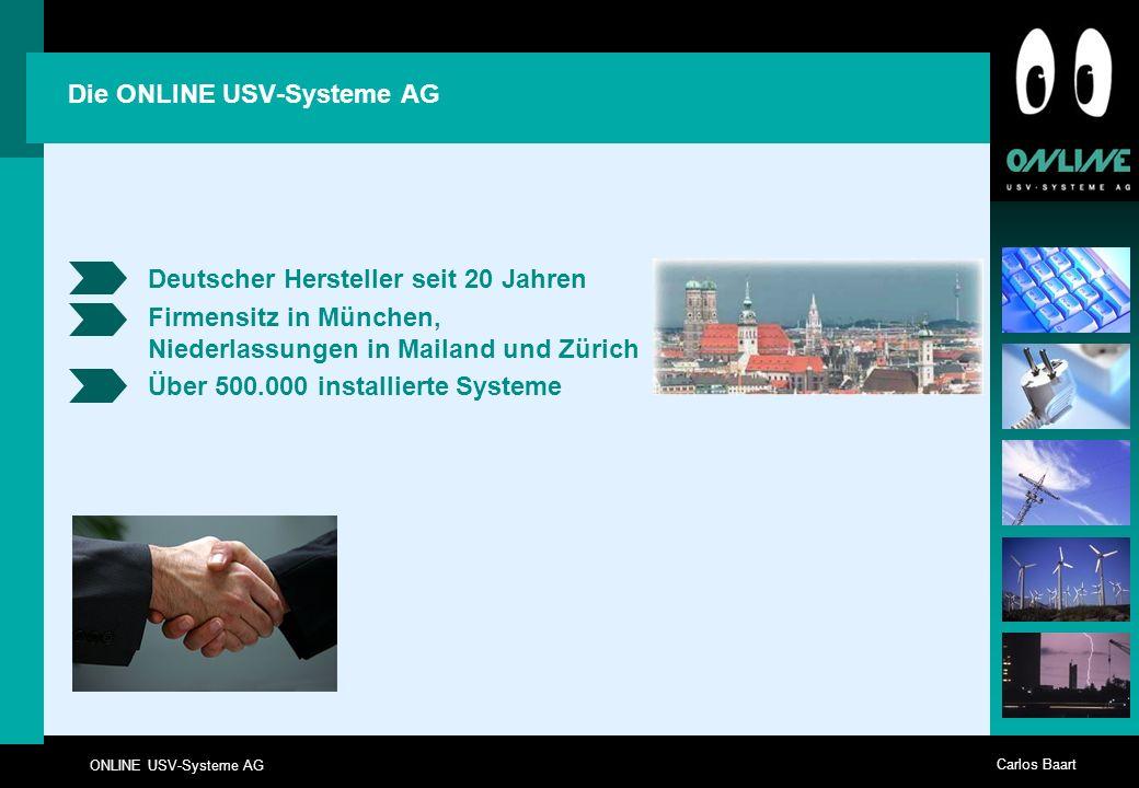 Die ONLINE USV-Systeme AG