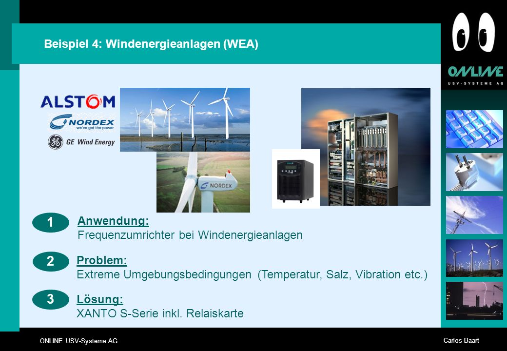 1 2 3 Beispiel 4: Windenergieanlagen (WEA)