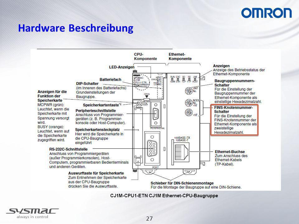 Hardware Beschreibung