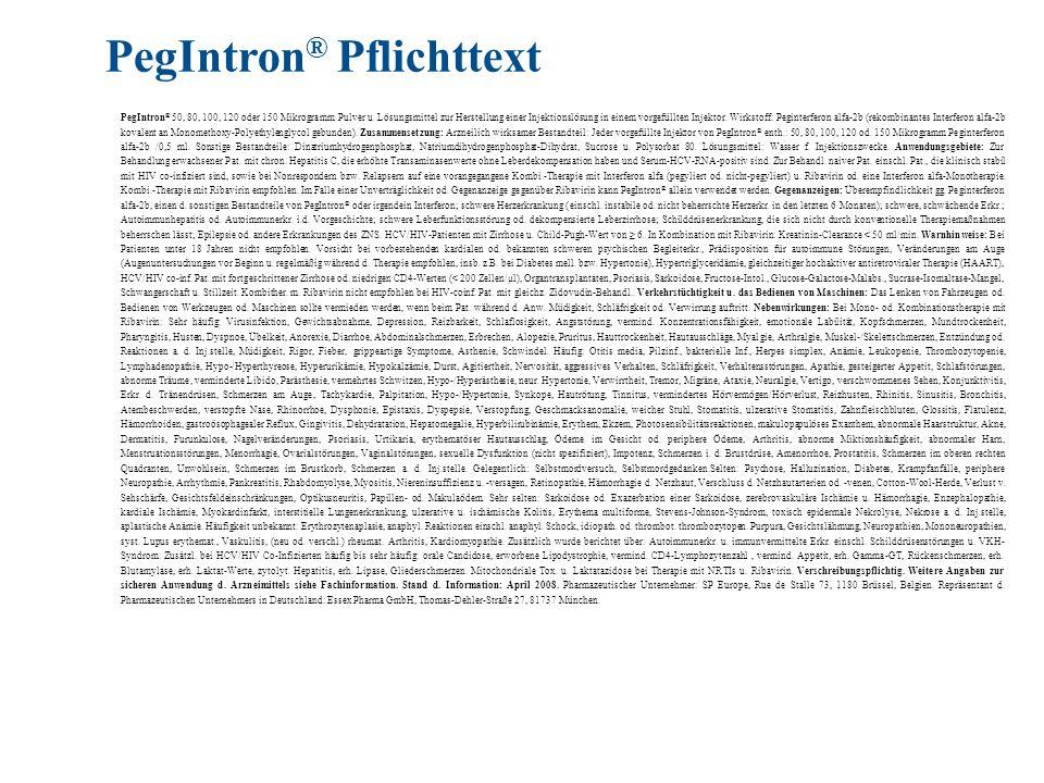 PegIntron® Pflichttext