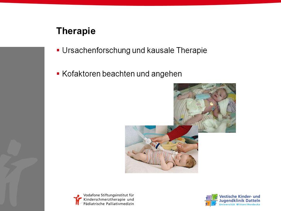 Therapie Ursachenforschung und kausale Therapie
