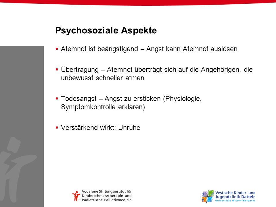 Psychosoziale Aspekte