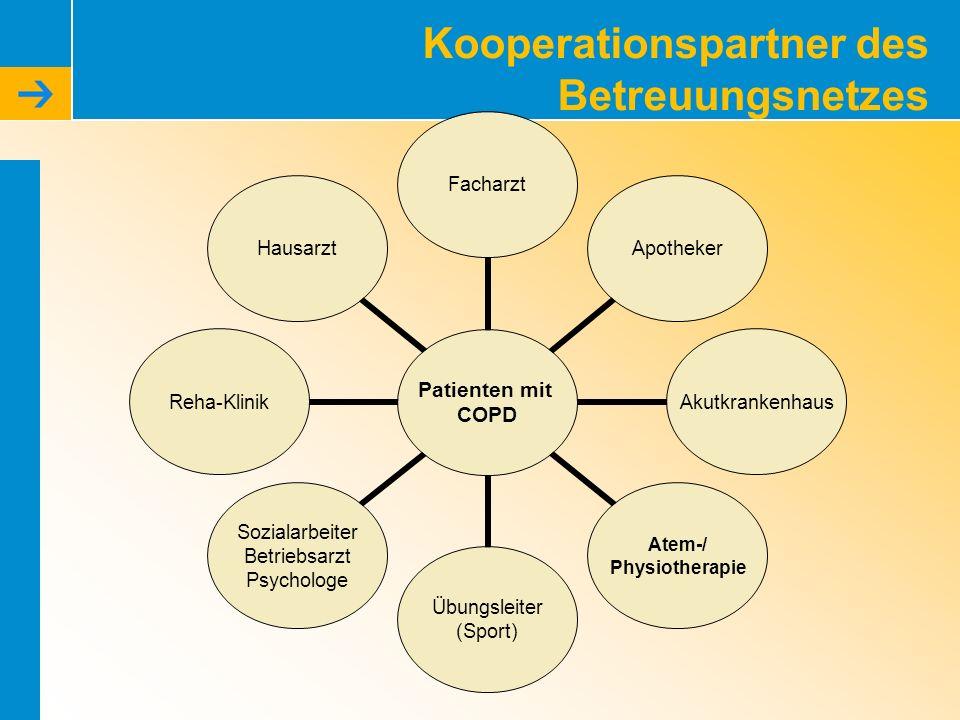 Kooperationspartner des Betreuungsnetzes