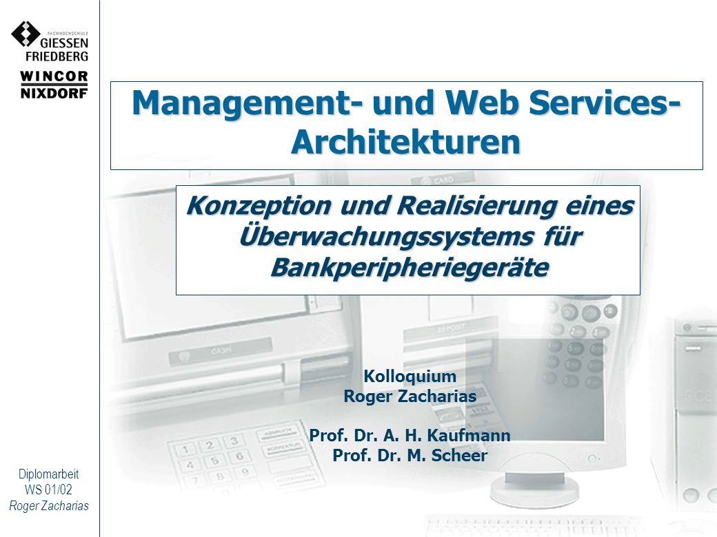 Management- und Web Services- Architekturen