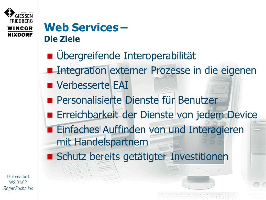 Web Services – Die Ziele