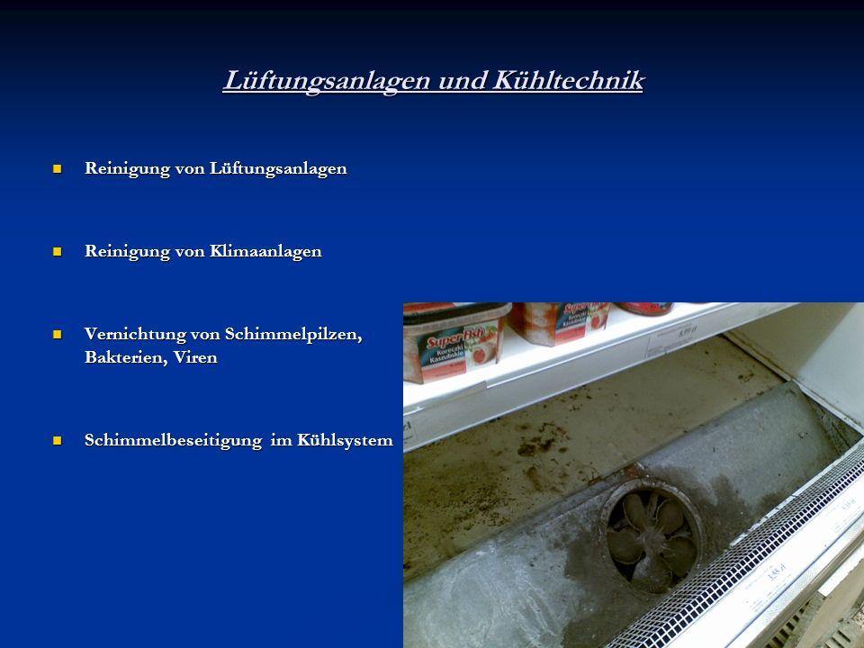 Lüftungsanlagen und Kühltechnik