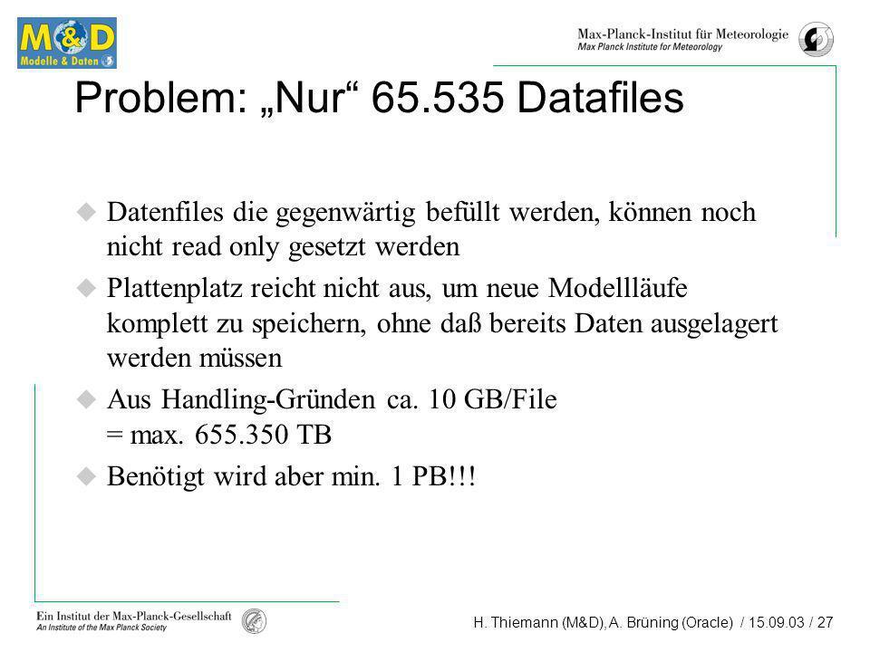 """Problem: """"Nur 65.535 Datafiles"""