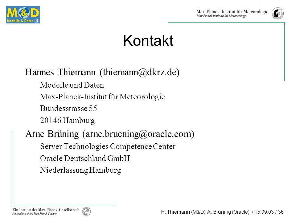 Kontakt Hannes Thiemann (thiemann@dkrz.de)