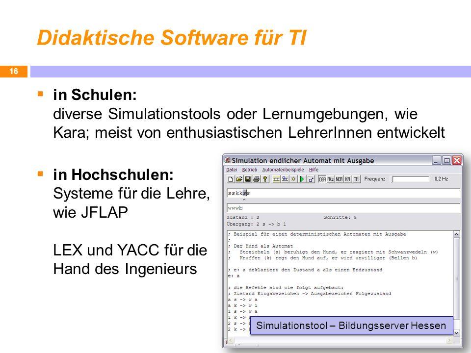 Didaktische Software für TI
