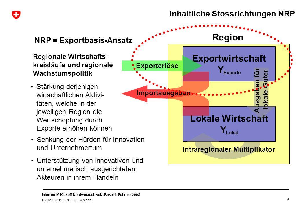 Exkurs: Vergleich mit der EU-Regionalpolitik 2007-2013