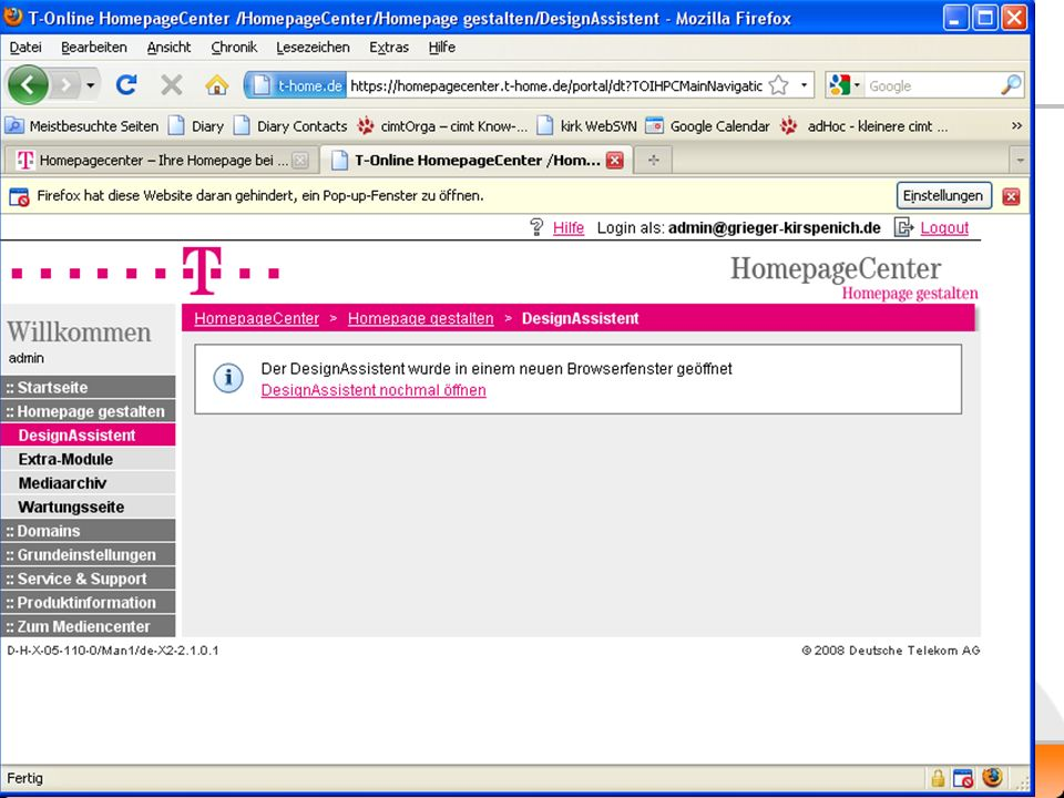 Homepage-Center