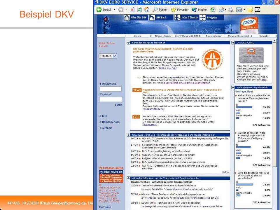 Beispiel DKV