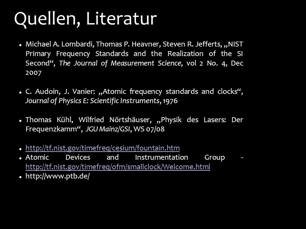 Quellen, Literatur
