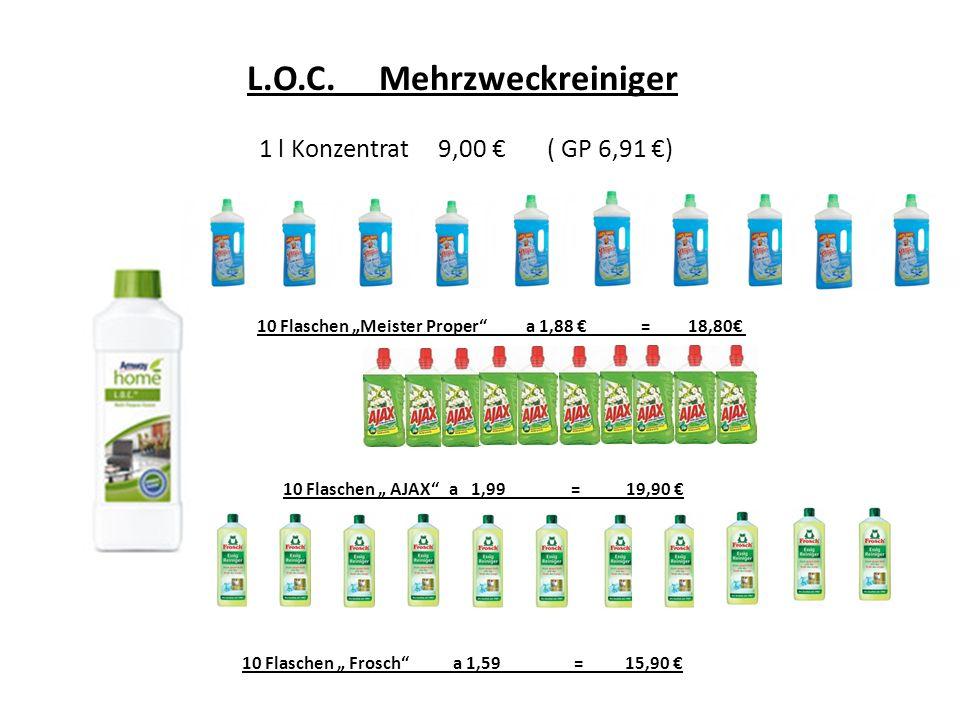 L.O.C. Mehrzweckreiniger 1 l Konzentrat 9,00 € ( GP 6,91 €)