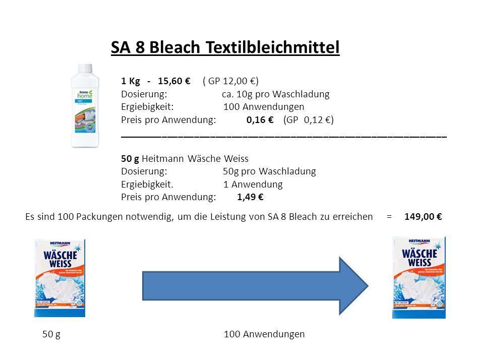SA 8 Bleach Textilbleichmittel