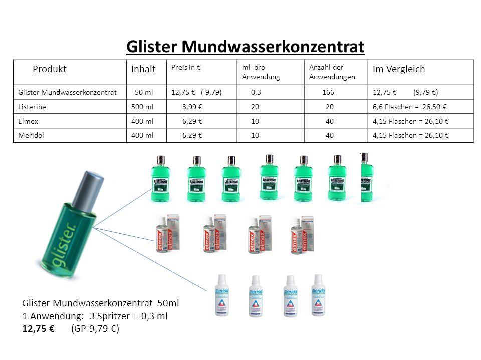 Glister Mundwasserkonzentrat