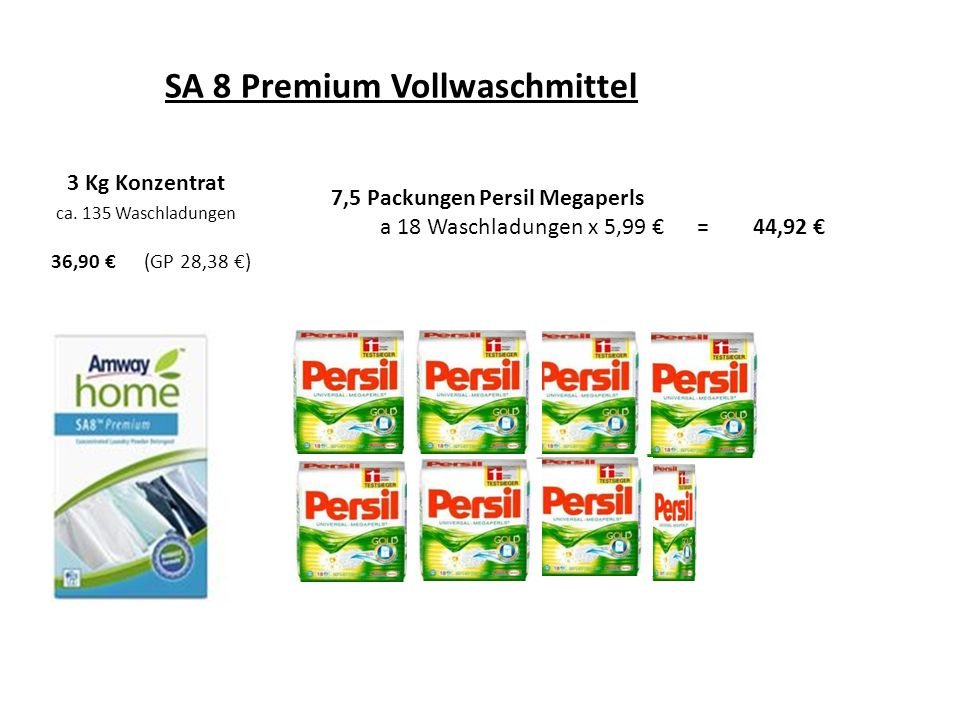 SA 8 Premium Vollwaschmittel