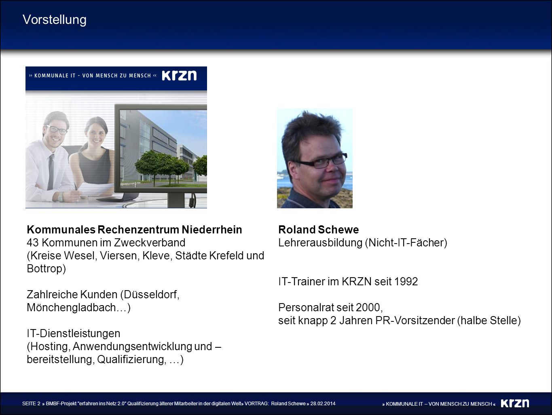 Vorstellung Kommunales Rechenzentrum Niederrhein