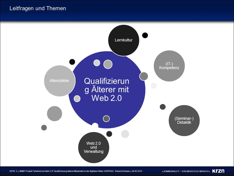 Qualifizierung Älterer mit Web 2.0