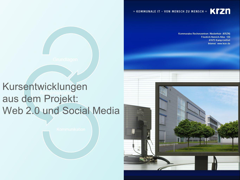 aus dem Projekt: Web 2.0 und Social Media