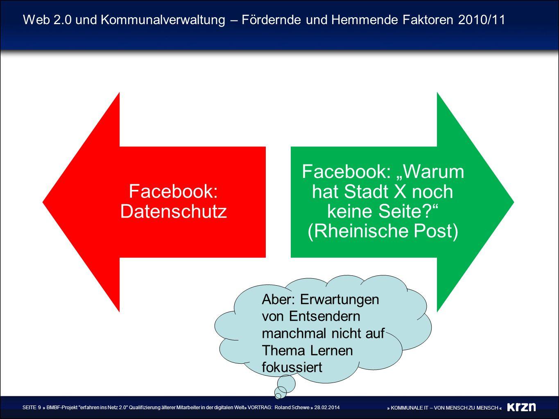 Facebook: Datenschutz