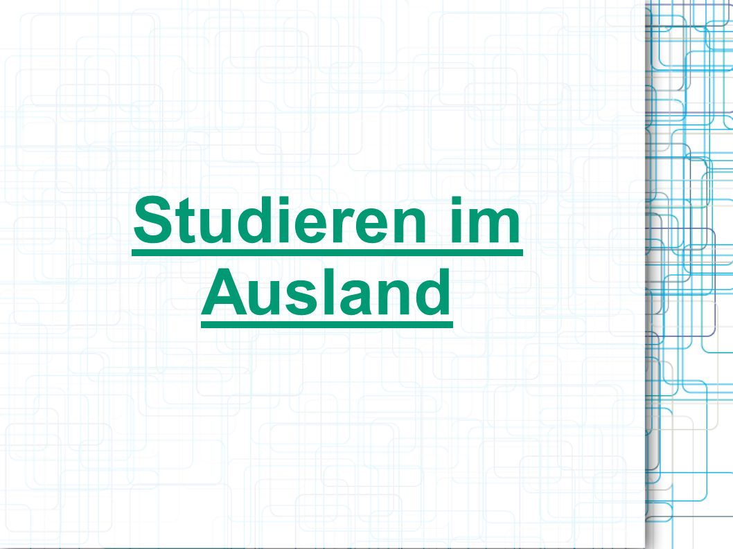 studieren im ausland ppt herunterladen On studieren im ausland