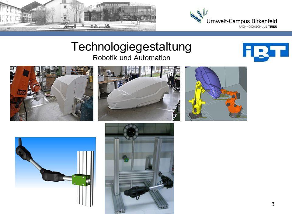 Technologiegestaltung Robotik und Automation