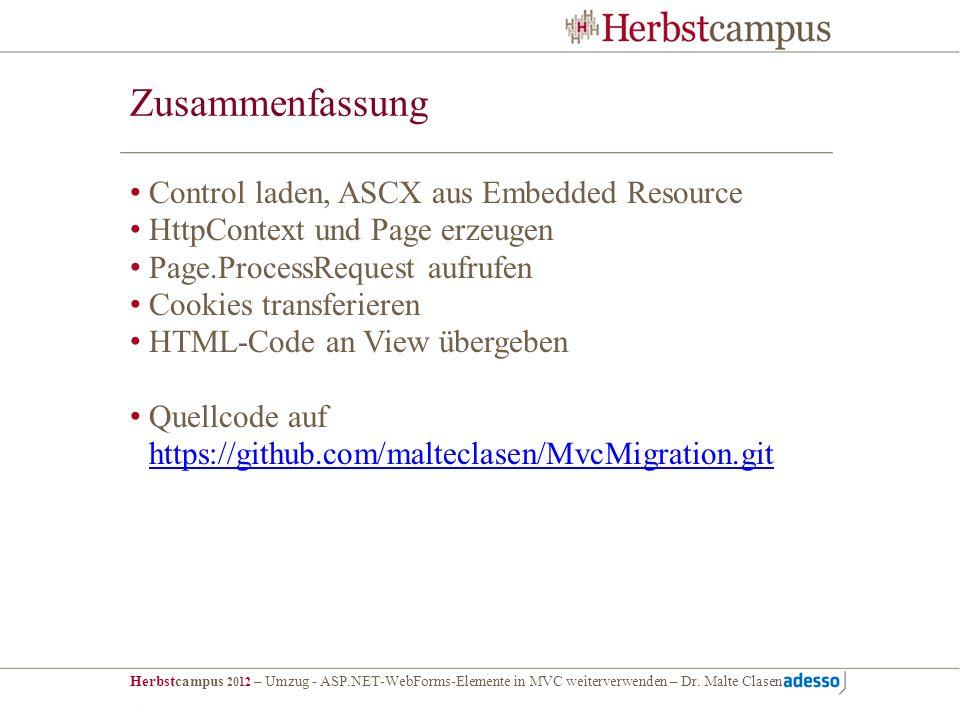 Zusammenfassung Control laden, ASCX aus Embedded Resource
