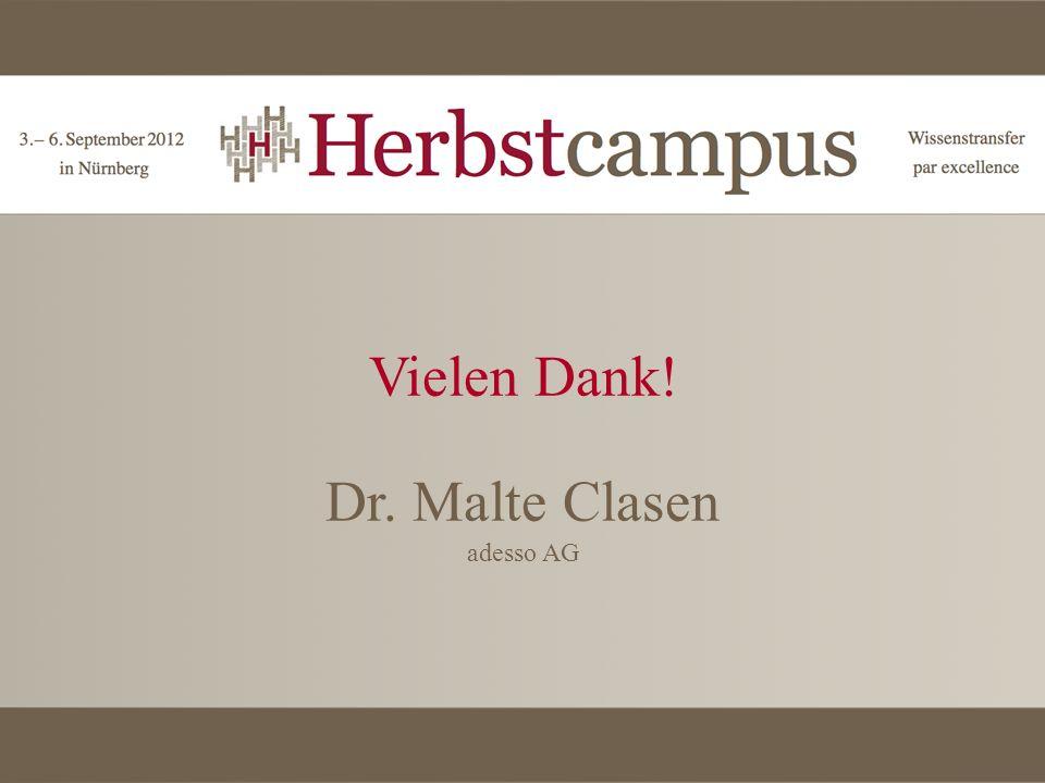 Dr. Malte Clasen adesso AG
