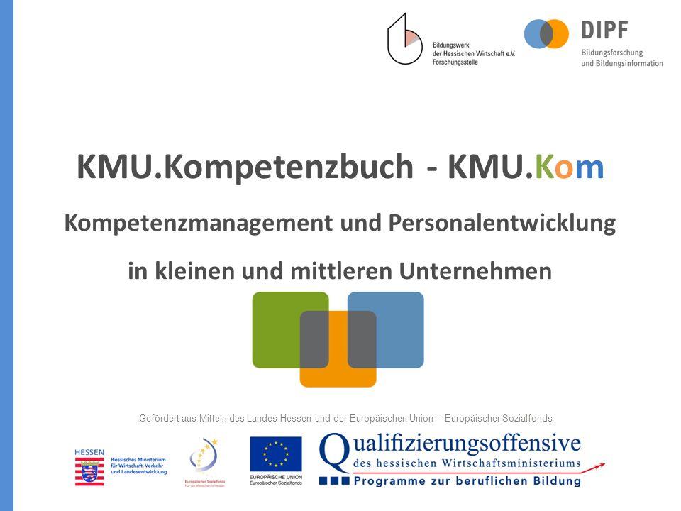 KMU. Kompetenzbuch - KMU