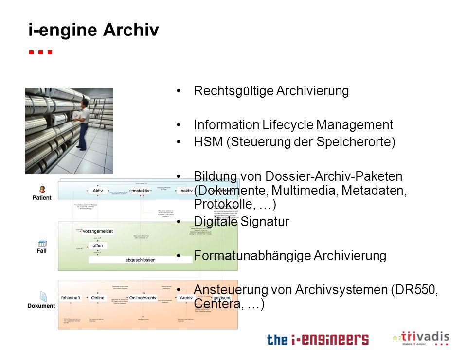 i-engine Archiv Rechtsgültige Archivierung