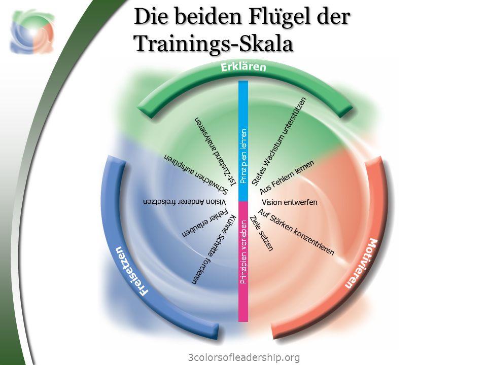 Die beiden Flügel der Trainings-Skala