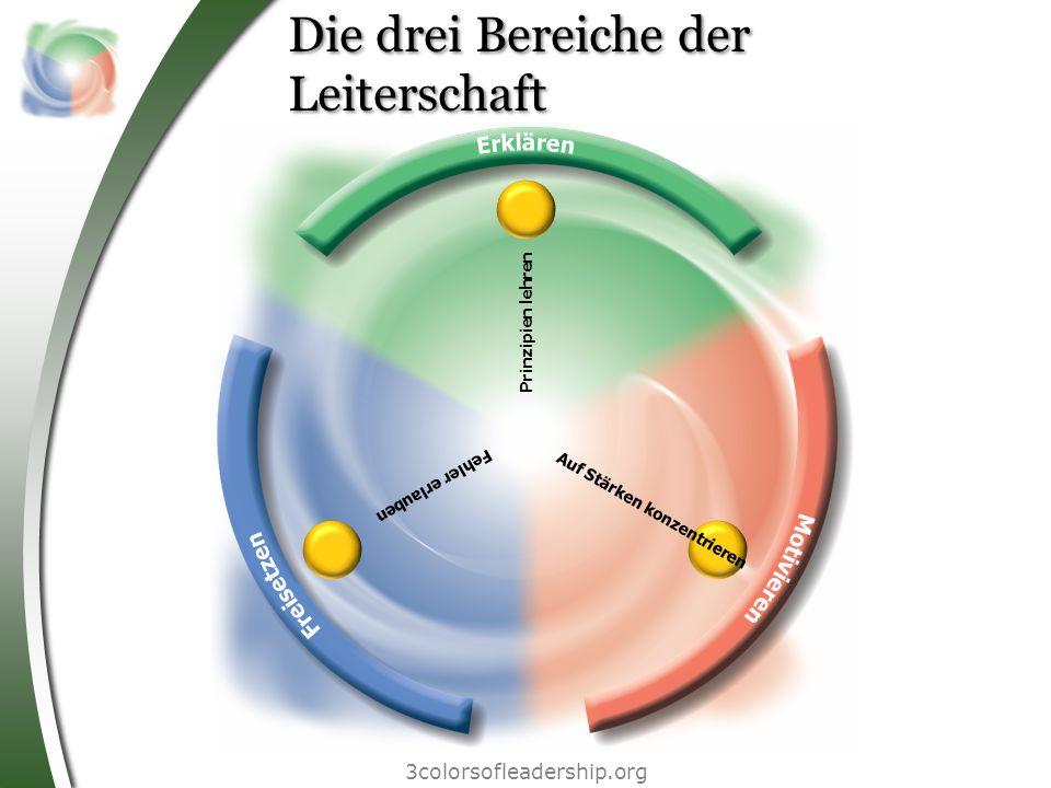 Die drei Bereiche der Leiterschaft