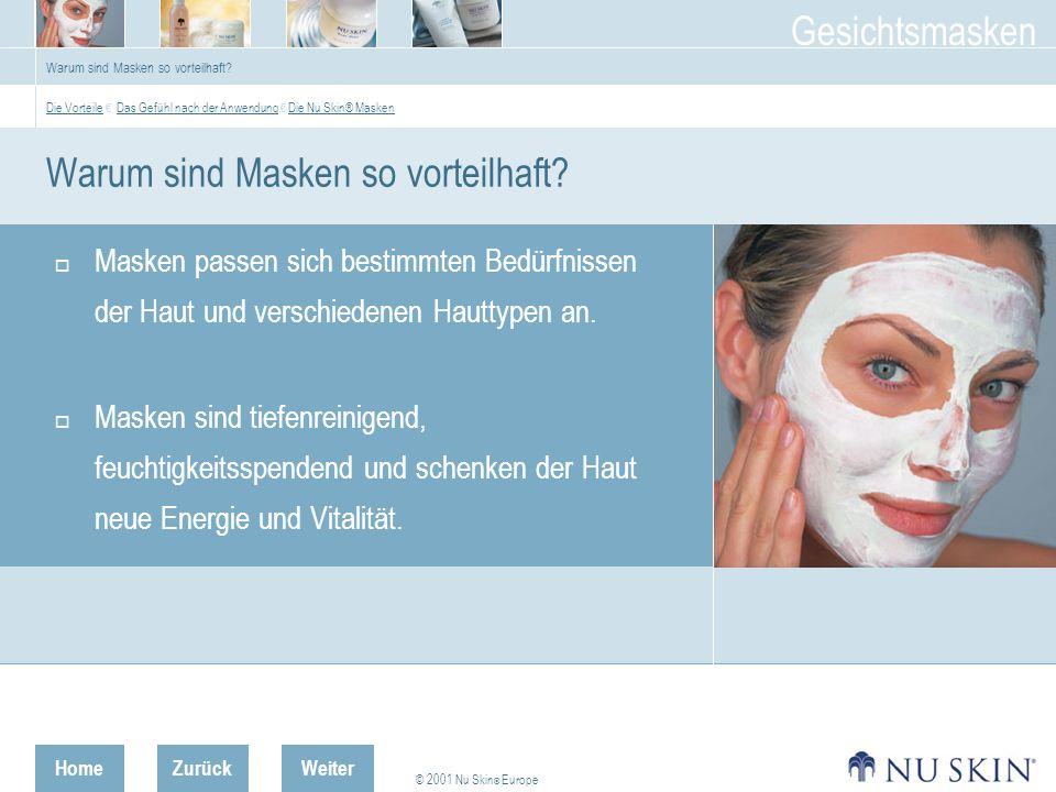 Warum sind Masken so vorteilhaft