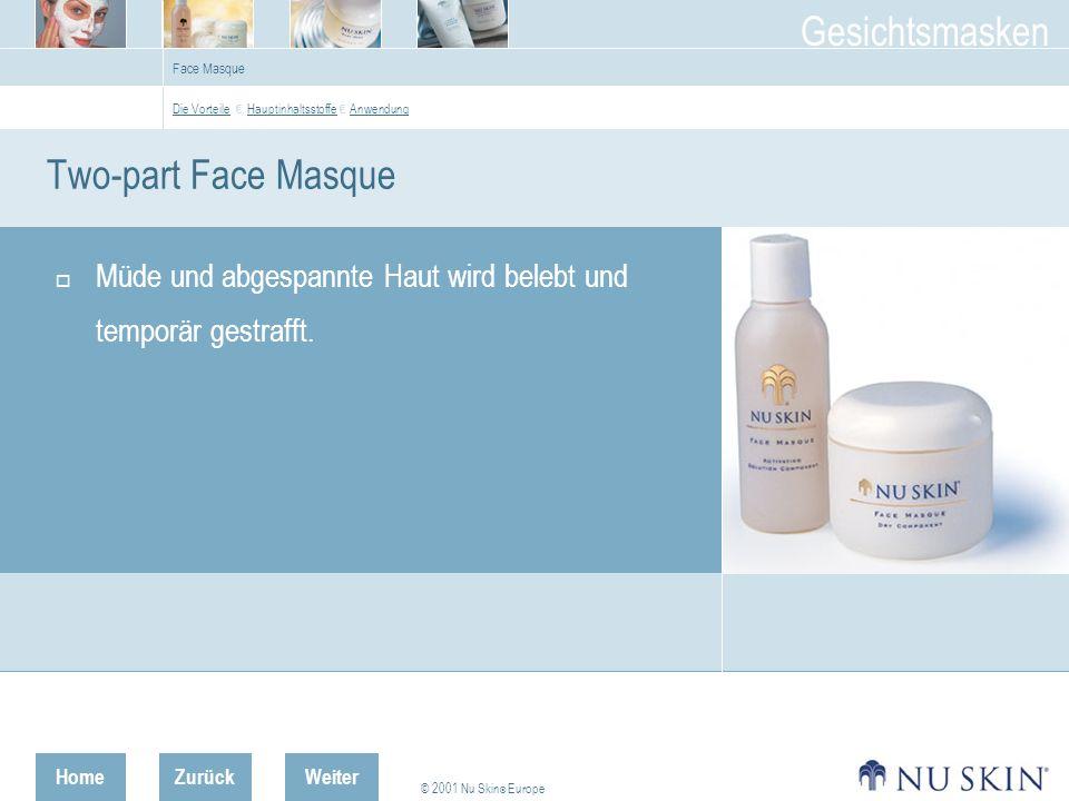 Face Masque Die Vorteile € Hauptinhaltsstoffe € Anwendung.