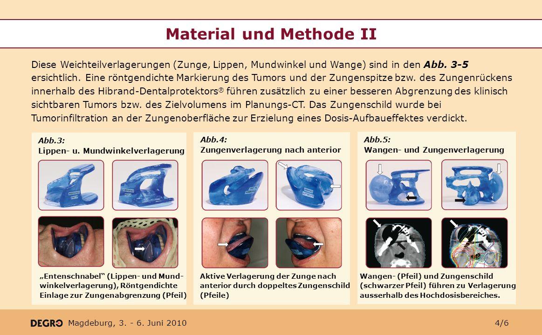 Material und Methode II