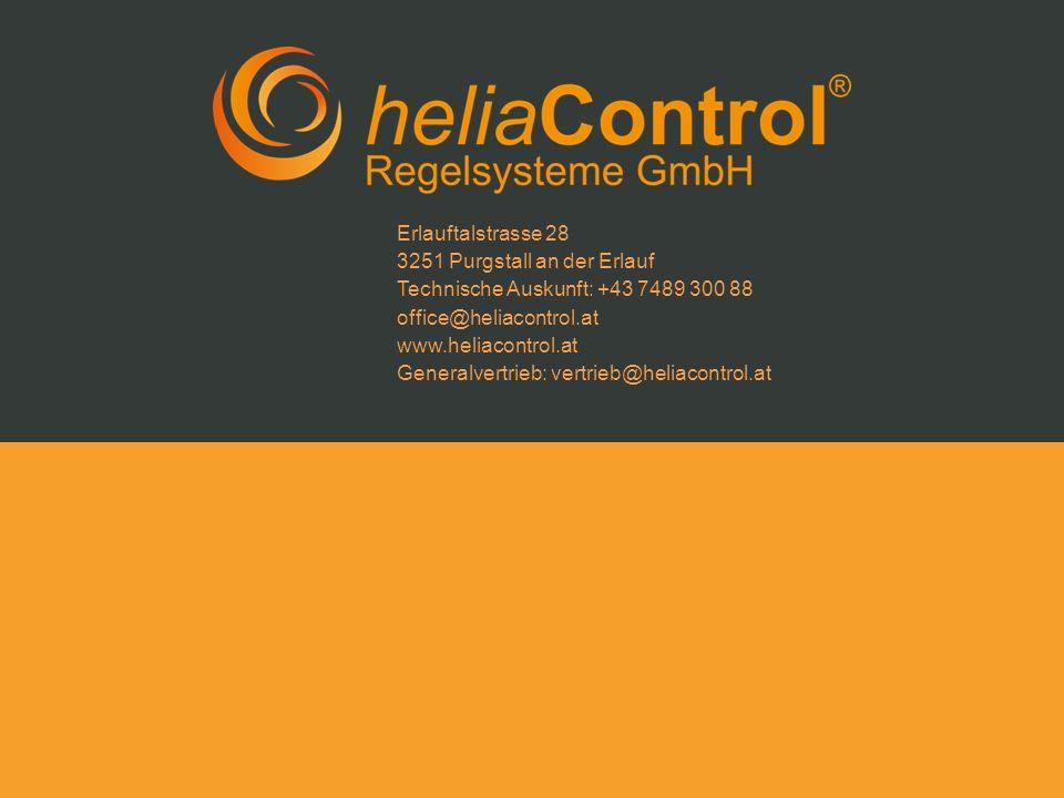 Erlauftalstrasse 28 3251 Purgstall an der Erlauf. Technische Auskunft: +43 7489 300 88. office@heliacontrol.at.