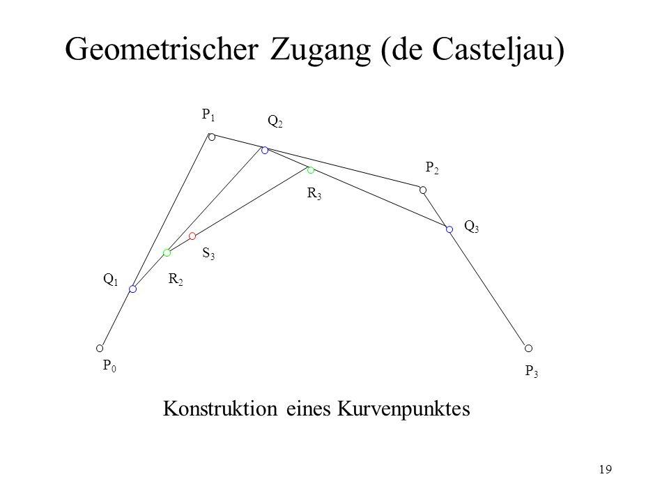 Geometrischer Zugang (de Casteljau)