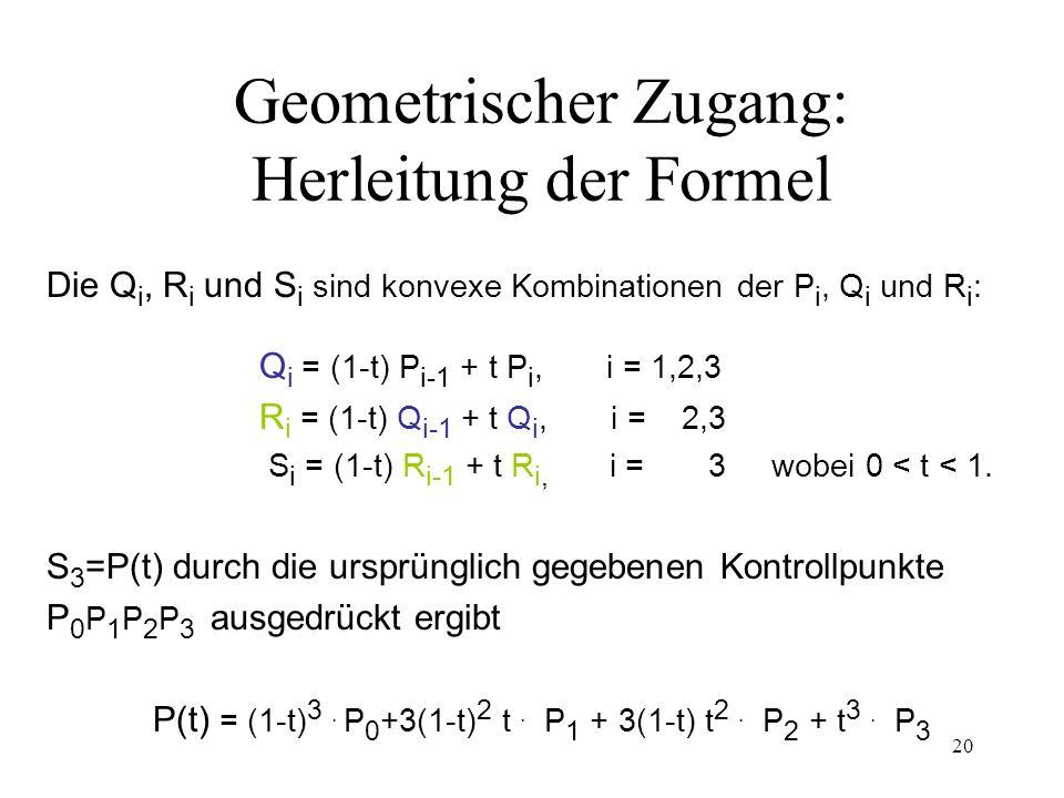 Geometrischer Zugang: Herleitung der Formel