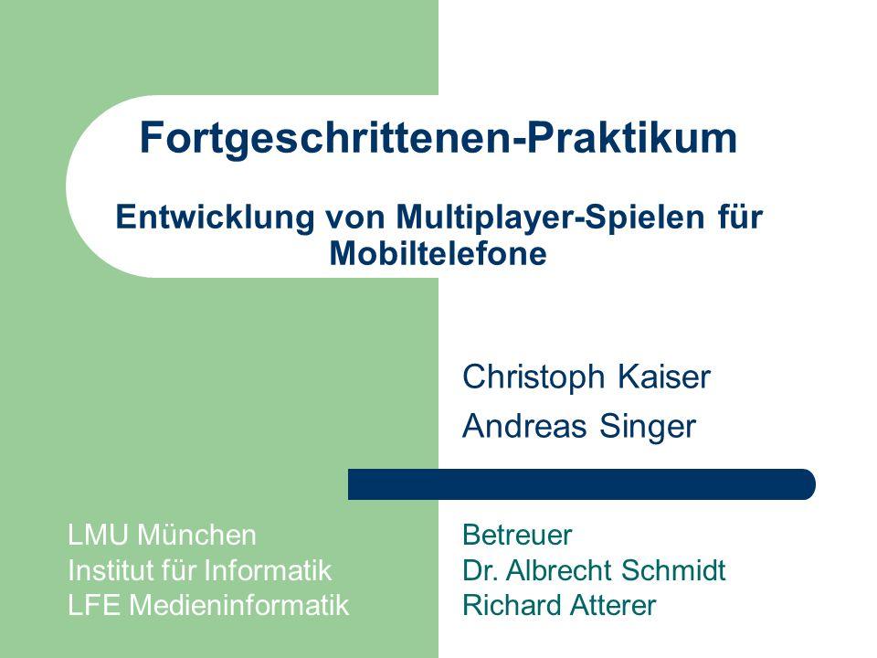Christoph Kaiser Andreas Singer