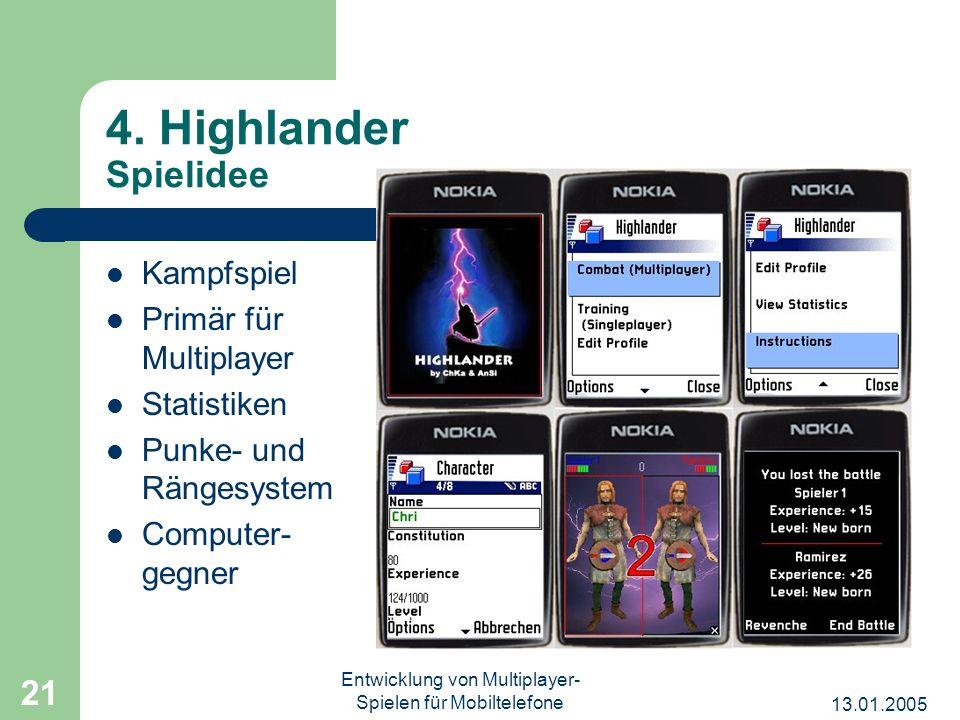 Entwicklung von Multiplayer-Spielen für Mobiltelefone