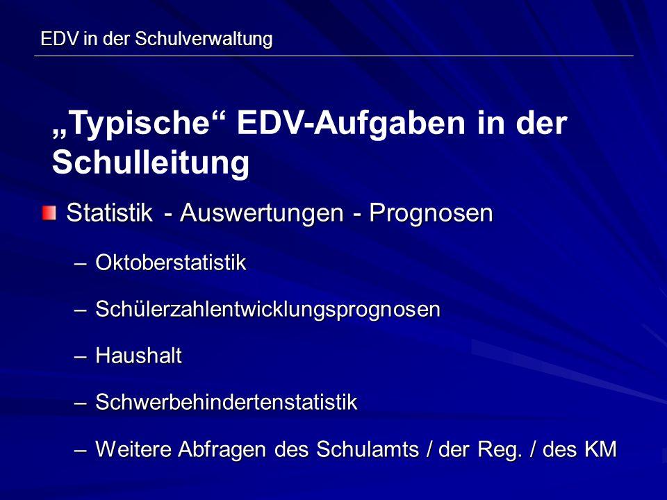 EDV in der Schulverwaltung