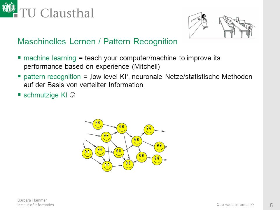 Maschinelles Lernen / Pattern Recognition