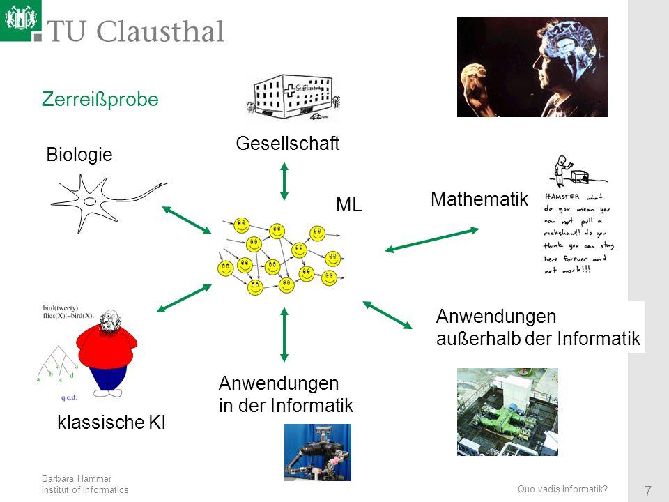 Zerreißprobe Gesellschaft Biologie Mathematik ML Anwendungen