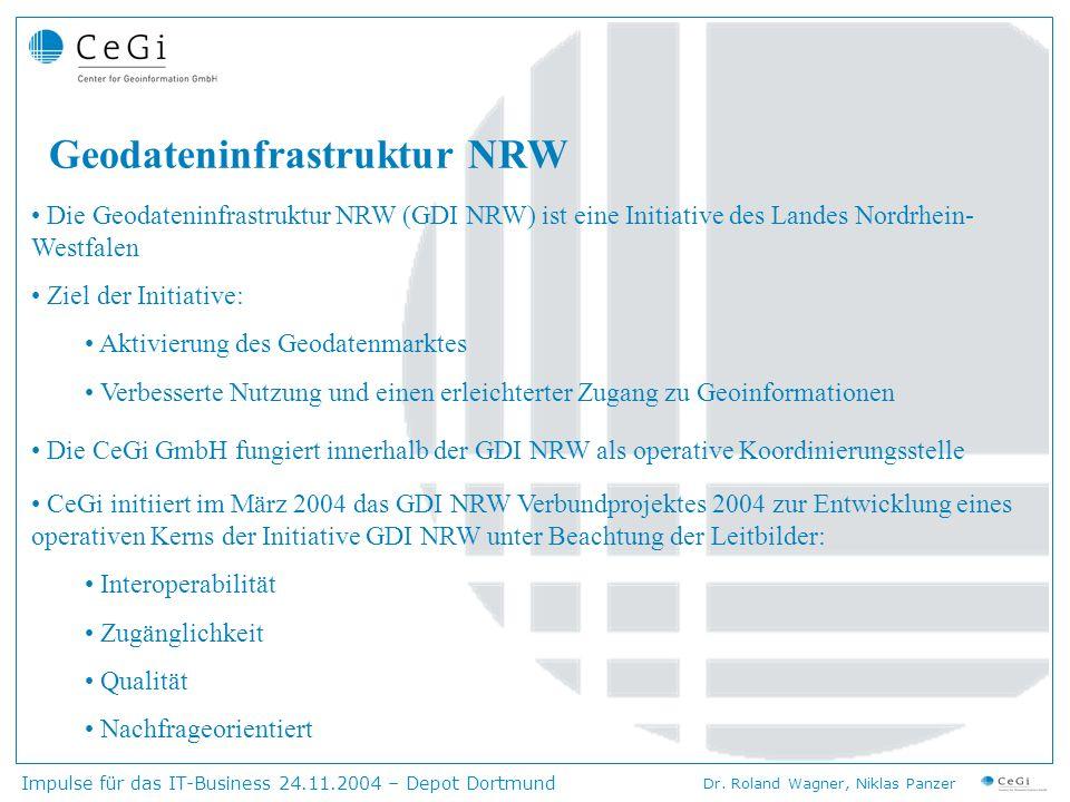 Geodateninfrastruktur NRW