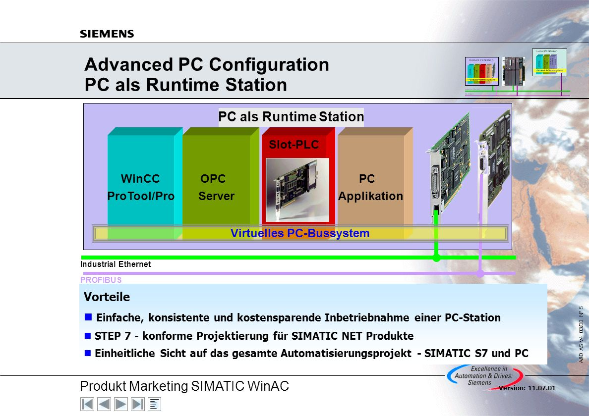 Advanced PC Configuration PC als Runtime Station