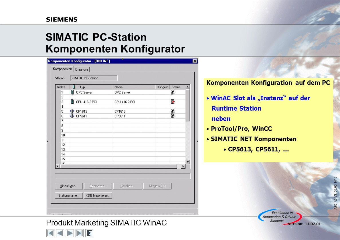 SIMATIC PC-Station Komponenten Konfigurator