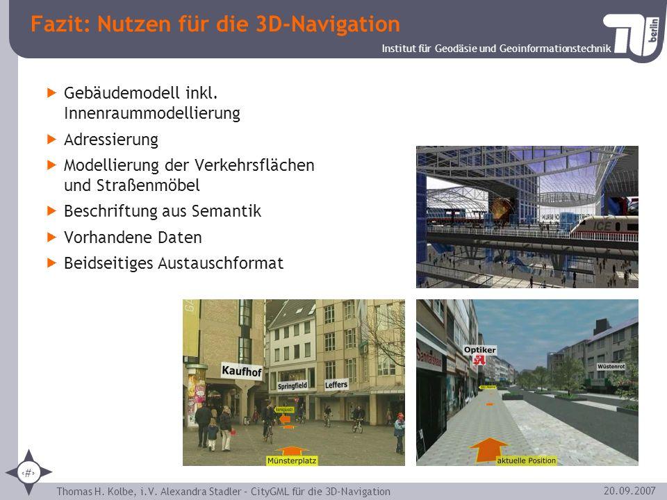 Fazit: Nutzen für die 3D-Navigation