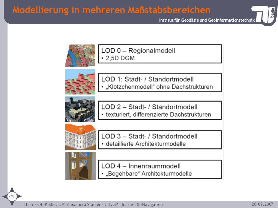 Modellierung in mehreren Maßstabsbereichen
