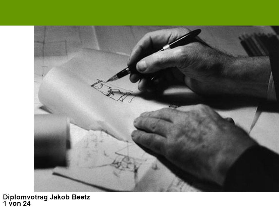 Diplomvotrag Jakob Beetz